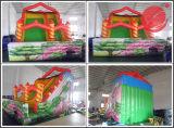 2017多彩で膨脹可能な弾力がある城のスライドまたはInflatalesのスライドかスライダ(T4-237)