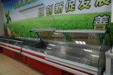 Delikatessen-Kühlraum und heißer Schaukasten mit Qualität