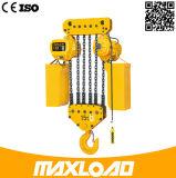 5t choisissent l'élévateur à chaînes électrique de vitesse avec le crochet