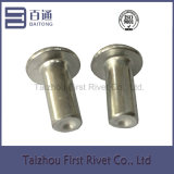 ribattino di alluminio solido capo piano di 6X18mm