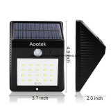 Bright Solar Power Outdoor Luz LED ativada por movimento para Garden Patio Path Pool