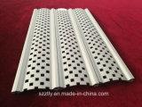 Profils de poinçon en aluminium personnalisés d'extrusion/plaque