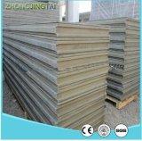 Placa concreta exterior da isolação térmica de material de construção novo