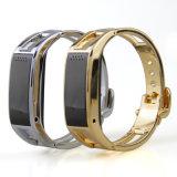 Manual elegante de la pulsera de Bluetooth de los Wristbands del podómetro de Shenzhen