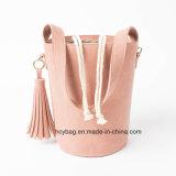 簡単な様式のバケツ袋、方法女性ハンドバッグ、普及したPUのハンドバッグ