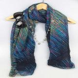 Neue Form-Zusatzgeräten-Schals für Mädchen-Polyester-Schal, Form-Schal