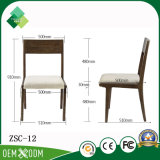 Cadeira de madeira de venda quente do estilo elegante para a sala de visitas (ZSC-12)