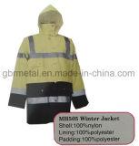 Revestimento do inverno do Workwear Mh505 da alta qualidade