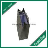 Costumbre Offset Papel color bolsa de algodón con cuerdas