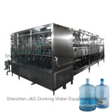 Máquina que capsula de relleno del fregado de las botellas de 5 galones para el agua mineral pura