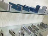 Fechamento de vidro da liga de alumínio da porta de Frameless com encaixes da correção de programa do pivô