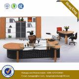 Divisória de madeira do escritório da estação de trabalho de 4 assentos $288 (NS-NW044)