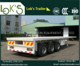 40 Pies 3axles Flatbed Trailer