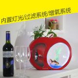 Hecho en China crear el tanque de pescados para requisitos particulares de acrílico de la mini talla