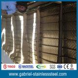 La couleur de vente en gros du marché de la Chine a enduit la feuille 304 de toiture de l'acier inoxydable 201