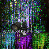 Освещение ландшафта цвета лазерного луча 2 рождества напольное