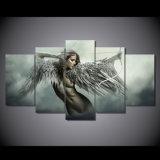 キャンバスの芸術は想像の天使の戦士の絵画キャンバスの版画室の装飾プリントポスター映像のキャンバスMc052を印刷した