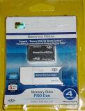 carte de duo de bâton de la mémoire 4GB-8GB pro pour Sony
