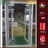 Portelli di vetro dell'entrata dell'oscillazione del doppio del rimontaggio del PVC per la Camera