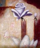 Peinture à l'huile abstraite 0125