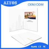 Cartolina d'auguri dell'affissione a cristalli liquidi da 10.1 pollici con la memoria interna