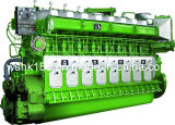 Двигатель дизеля Reliable Running 1471kw-2206kw Marine Низк-скорости Avespeed Ga8300