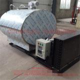 Réservoir de refroidissement du lait d'acier inoxydable