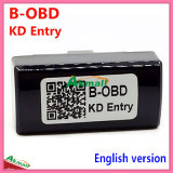 Entrada de B-OBD Kd & dispositivo do OBD Bluetooth na versão inglesa