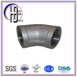 90 graus do ANSI galvanizaram o cotovelo contínuo moldado do ferro maleável & o encaixe de tubulação elétrico da canalização