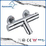 O bronze do banheiro cromado Anti-Escalda o Faucet termostático do chuveiro (AF3250-7)