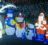 休日のクリスマスLEDのモチーフライト