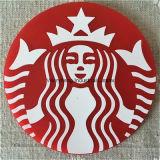 A forma redonda feita sob encomenda alguma projeta o Coaster macio colorido do PVC