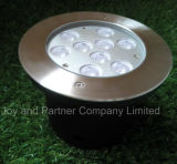 9W indicatore luminoso sotterraneo del CREE LED Inground (JP82691)