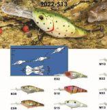 Noyau de qualité supérieure articulé Crank Shallow Wobbler 62mm et 75mm Floating Fishing Lure