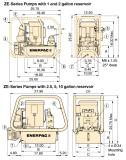 Ze-й серии, электрический Динамометрический ключ Насосы Enerpac Оригинал