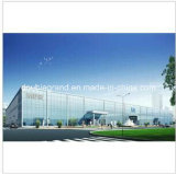 Vorfabrizierter Stahlkonstruktion-Auto-Ausstellungsraum
