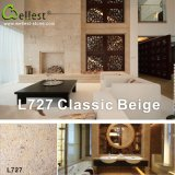 L727 Classic Beige Limestone Polished/Acid/Polished Finish Flooring et Wall Cladding Tile