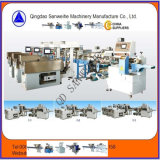 Peso automático da massa seca de Swfg 590 e máquina de embalagem