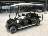6 Seaters elektrisches besichtigenauto batteriebetrieben