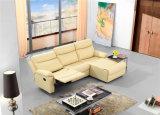 عادية خلفيّ [ركلينر] ثبت أريكة مع جلد [إيتلين]
