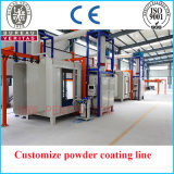 Fare scorrere Sidesway Type Automatic Powder Coating Line per Space Saving