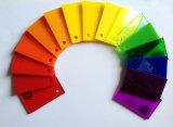 Scheda di pubblicità della scheda dello strato del plexiglass 329) (/strati acrilici acrilici del piatto PMMA