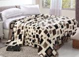 Cobertor coral impresso Sr-B170213-22 impresso macio super do velo do cobertor da flanela
