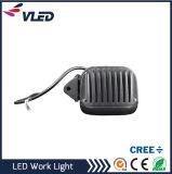 Luz quadrada do trabalho do diodo emissor de luz do CREE do caminhão fora da lâmpada 40W da estrada