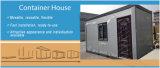 Casa nova clara chinesa do recipiente da construção de aço