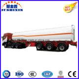 3 Treibstoff der Wellen-36cbm/Diesel/Ladung/Dienstkohlenstoffstahl-Tanker-LKW-halb Schlussteil