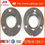 Flange de galvanização de Fifting da tubulação de aço de carbono do zinco