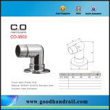 Conector redondo de tubo com placa base (CO-3503)
