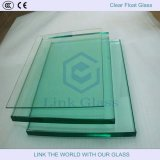 2.5-8mm Transparente recozido Clear Float Sheet Glass for Building / Furniture