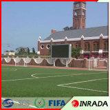 Estadio de fútbol y jardín de la hierba artificial de la resistencia de fuego